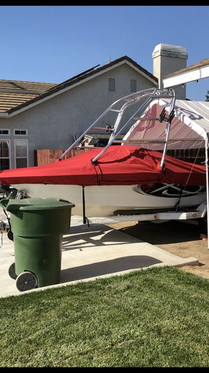 Brand new boat cover in the box for Sale in Ripon, CA
