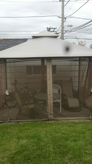 Kazeebo and lawn furniture for Sale in Calumet Park, IL
