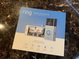 RING VIDEO DOORBELL 2 BRAND NEW for Sale in Lorton, VA
