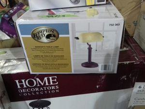 Hampton Bay Bankers table lamp for Sale in Phoenix, AZ