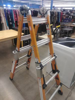 Construction ladder $150 obo top of the line for Sale in Peoria, AZ