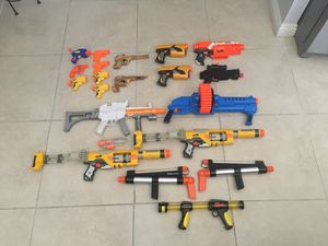Lot of NERF/Toy Guns for Sale in Las Vegas, NV