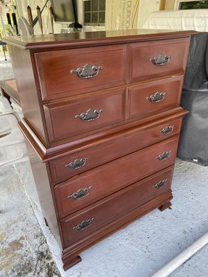 Cherry wood dresser for Sale in Margate, FL