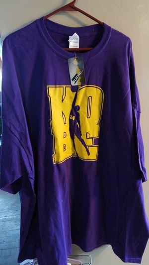KOBE BRYANT SHIRTS 5XL for Sale in Lima, OH