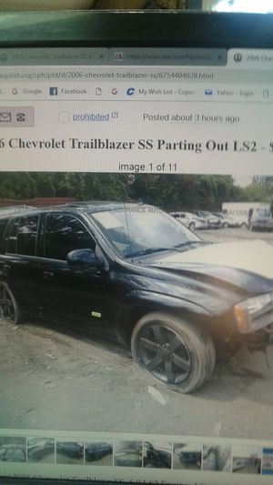 2006 Chevy Trailblazer Super Sport parting out for Sale in Phoenix, AZ