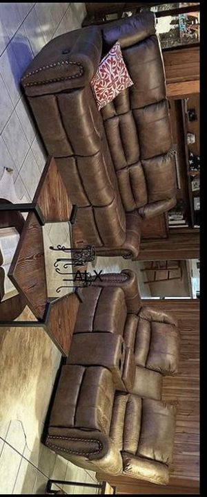 ^^ New (living room set free Delivery reclining. for Sale in Austin, TX