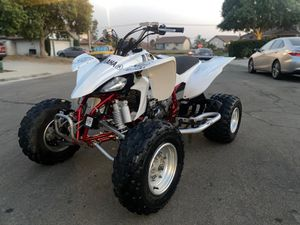 04 YFZ YAMAHA YFZ 450 EXELENT CONDITIONS , CASH ONLY for Sale in Moreno Valley, CA