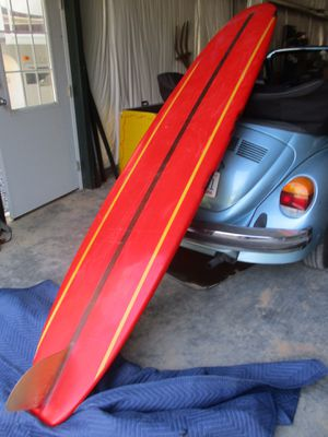 Ten Toes surfboard longboard from 60's for Sale in Kernersville, NC