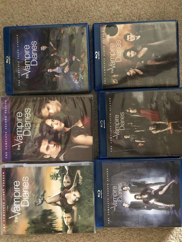 Seasons 1-6 The Vampire Diaries