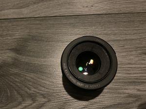 Canon 50mm 1.8 prime lens for Sale in FL, US