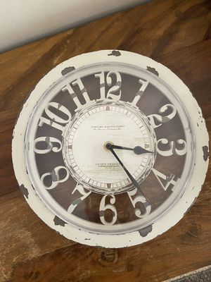 Distressed Antique Farmhouse Clock & Battery - Near SDSU for Sale in San Diego, CA
