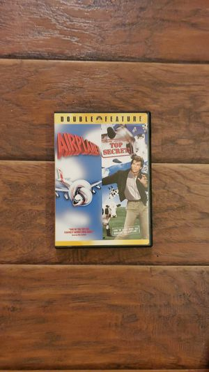 DVD - Airplane + Top Secret for Sale in San Clemente, CA