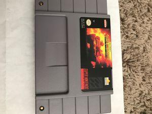 Super Battletank Original Super Nintendo Game for Sale in Worthington, OH