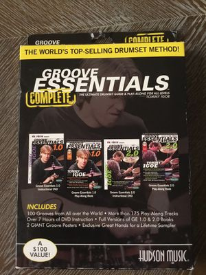 Groove Essentials Drum set Guide $40 New Never Used for Sale in Aurora, CO
