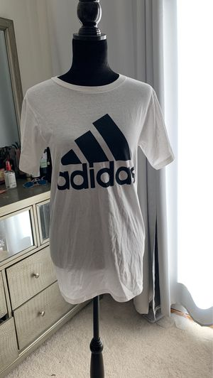 Adidas white t shirt 🤍 for Sale in Oakley, CA