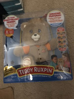 Brand new sealed teddy ruxpin storytelling bear for Sale in Portland, OR