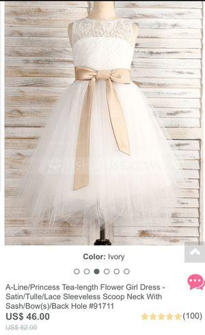 2T flower girl dress for Sale in Austin, TX