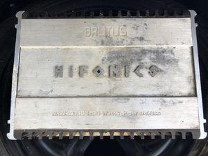 Hifonics 1200.1 super d class amp for Sale in Frostproof, FL