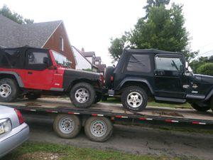 2002 jeep wrangler for Sale in Proctor, WV