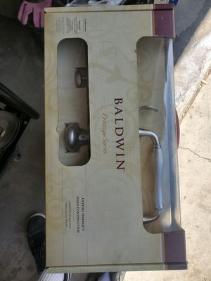 Baldwin prestige door handle set for Sale in Ontario, CA