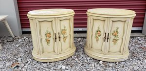 Vintage Oval Nightstands for Sale in Vermilion, OH