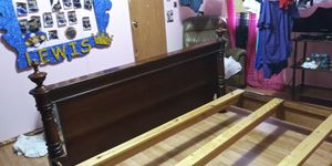 King Size Bed Frame for Sale in Mercedes, TX