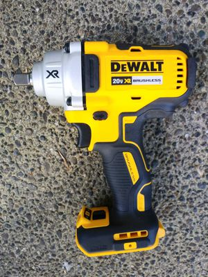 """DeWalt 20 Volt XR Brushless COMPACT 1/2"""" Mid Range Impact Wrench 3 Speeds (TOOL ONLY) for Sale in Tacoma, WA"""
