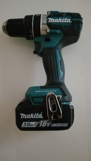 New Makita 18-Volt LXT Lithium-Ion 1/2 in. Hammer Drill (XPH12) for Sale in Hemet, CA