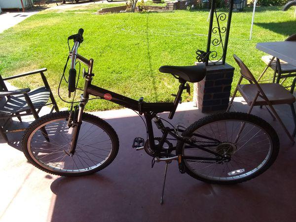 Bike that folds in half
