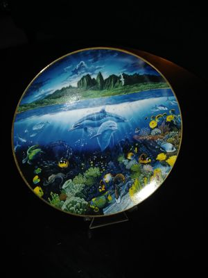 Underwater Paradise decorative plate for Sale in Sunrise, FL