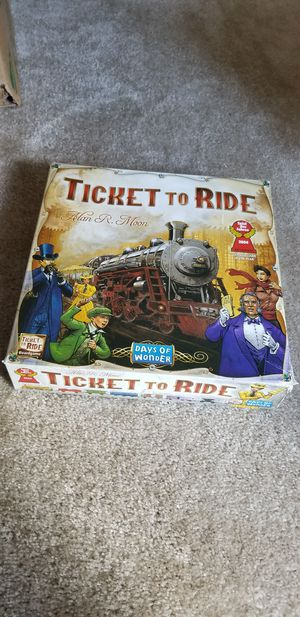 Ticket to Ride Board Game (used only once) for Sale in Dunwoody, GA