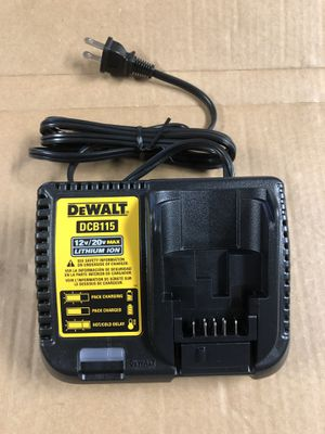 Dewalt 20V Battery Charger Brand New Never Used $20 Firm for Sale in Chino, CA
