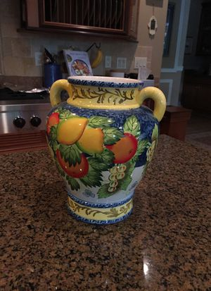Hand Painted Vase for Sale in Gig Harbor, WA