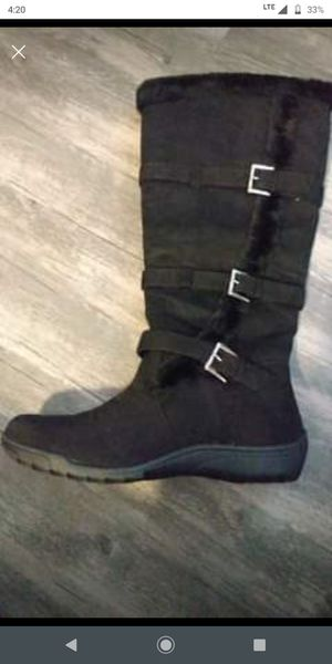 8.5 black winter boots $20 for Sale in Anchorage, AK
