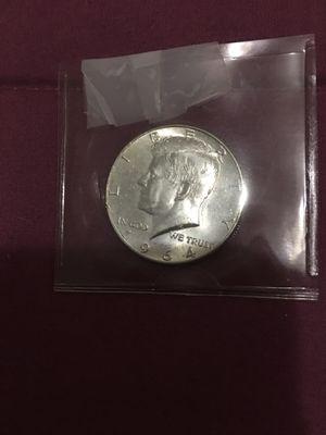 1964 jfk rare date silver half dollar for Sale in Miami, FL