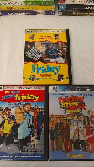 DVD's 3 Piece Set Friday 123 for Sale in Santa Clarita, CA