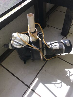 Pool pump and filter in good condition for Sale in Kissimmee, FL