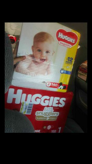 Huggies or pampers diapers for Sale in Garland, TX