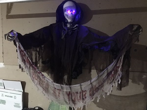 Tons of Halloween Props Mummy Vampire Witch Vulture Rat Spider Reaper & More for Sale in Rockwall, TX