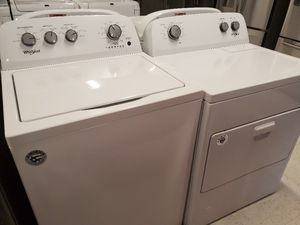 Whirlpool tap load washer and gas dryer set new with 6 month's warranty for Sale in Mount Rainier, MD