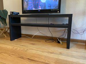 Black IKEA TV/Media Console Table for Sale in Piedmont, CA