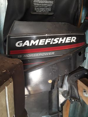 9.9 gamefisher outboards. for Sale in Oklahoma City, OK