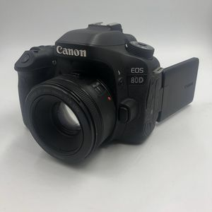 canon 80d / 50mm wide angle lens for Sale in Springfield, MA