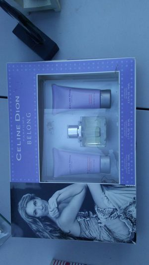 Celine Dion perfume set for Sale in Redford Charter Township, MI