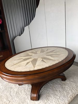 Gorgeous Tuscan style coffee table - High End for Sale in Bonita Springs, FL