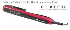 Perfecta Portable Electric Hair Straightening Brush for Sale in Indianapolis, IN