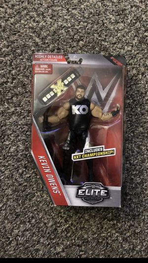 WWE Mattel Elite Series 43 Kevin Owens with NXT Title Brand New for Sale in Fresno, CA