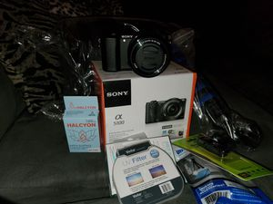 Sony A5100 Pro Digital Camera & Accessories for Sale in Houston, TX