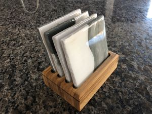 Bamboo Coaster holder: (made to order) for Sale in Queen Creek, AZ