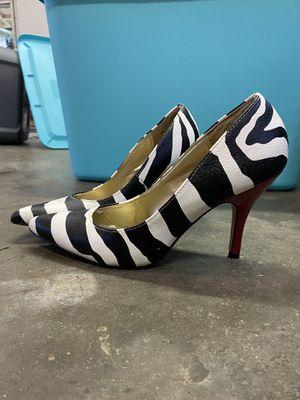 Zebra print/red heels for Sale in Murfreesboro, TN